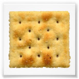 White Saltine Soda Crackers Photograph