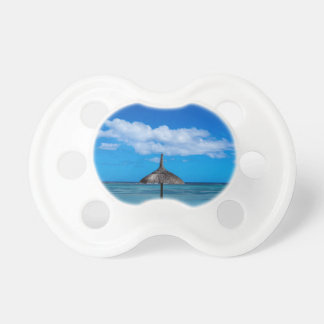 White sand beach of Flic en Flac Mauritius overloo Baby Pacifiers