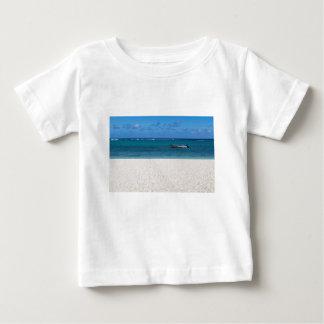 White sand beach of Flic en Flac Mauritius overloo Baby T-Shirt
