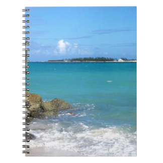 White Sand Beaches in the Bahamas Note Book