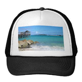 White Sand Beaches in the Bahamas Trucker Hat