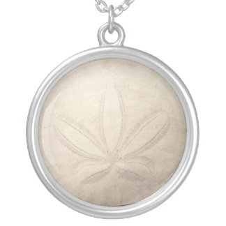 White Sand Dollar Necklace