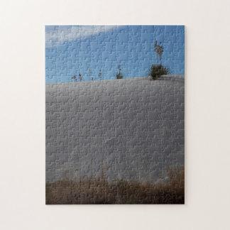 White Sand Dune Jigsaw Puzzle