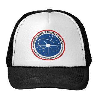 White Sands Missile Range Emblem Mesh Hats