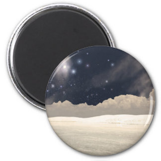 White Sands New Mexico Interpretation Magnet