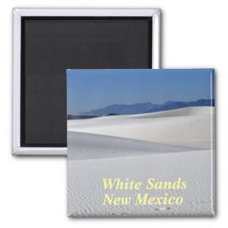 White Sands New Mexico Magnet