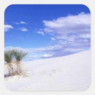 White Sands NM, New Mexico, USA Square Sticker