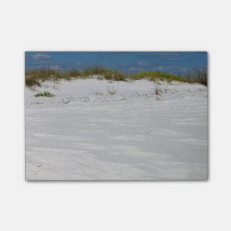 White sandy Beaches Post-it Notes