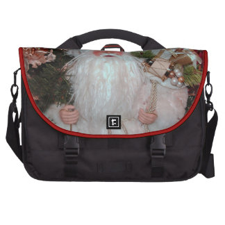 White Santa Laptop Bag