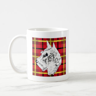 White Scottish Terrier mug