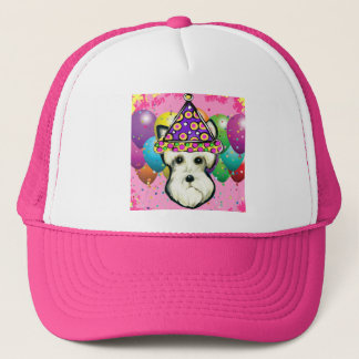 White Scottish Terrier Trucker Hat