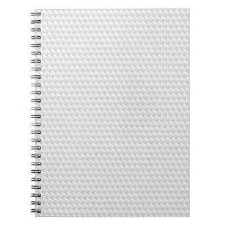 White sharp points note book