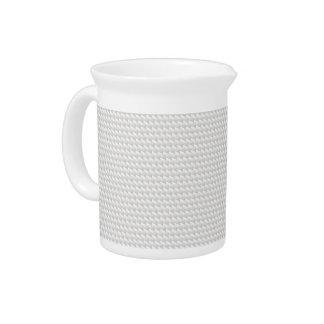 White sharp points pitcher