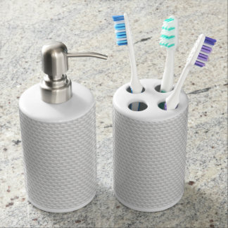 White sharp points soap dispenser