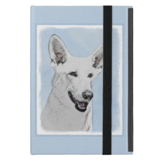 White Shepherd Cover For iPad Mini