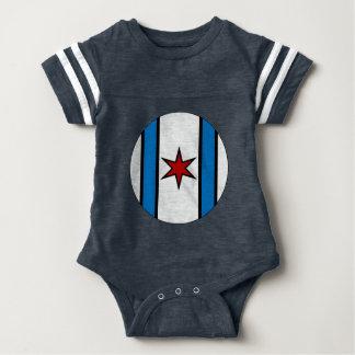 White Shield Baby Jersey Jumper Baby Bodysuit