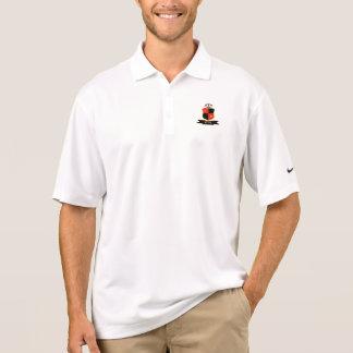 White shirt polo