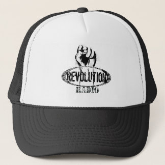 white-shirt trucker hat