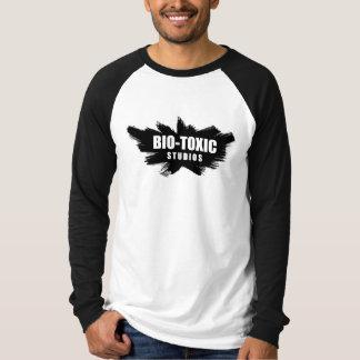 White Shirt w/ Black Sleeves