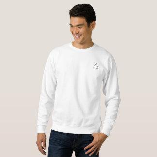 White shirt with black logos 2