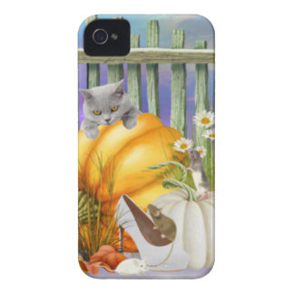 White Shoe Lost in the Pumpkin Patch is a collage iPhone 4 Case-Mate Case