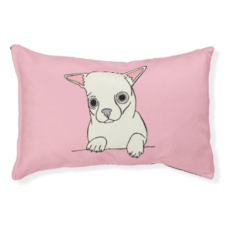 White Short Haired Chihuahua Bed
