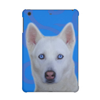White Siberian Husky iPad Mini 2 & 3 Case iPad Mini Case