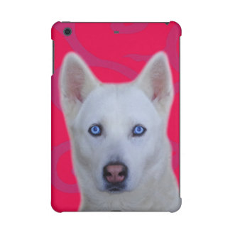 White Siberian Husky iPad Mini 2 & 3 Case iPad Mini Retina Case