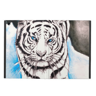 White Siberian Tiger Sow Cover For iPad Air