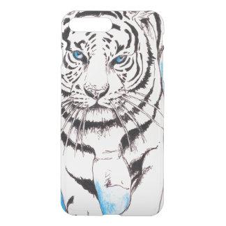 White Siberian Tiger Sow iPhone 8 Plus/7 Plus Case