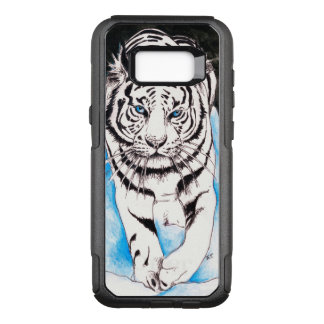 White Siberian Tiger Sow OtterBox Commuter Samsung Galaxy S8+ Case