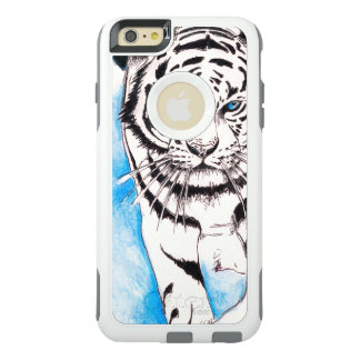 White Siberian Tiger Sow OtterBox iPhone 6/6s Plus Case