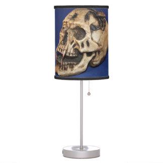 WHITE SKULL LAMP