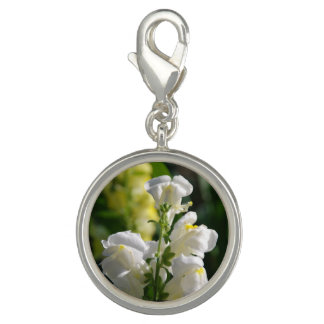 White Snapdragons Charm