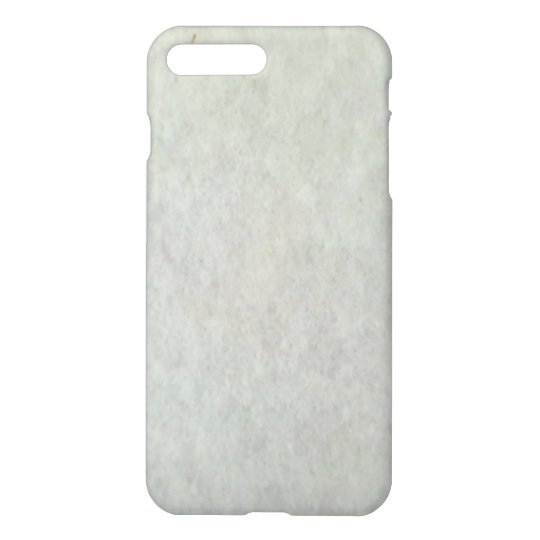 White Snow Pattern iPhone 8 Plus/7 Plus Case