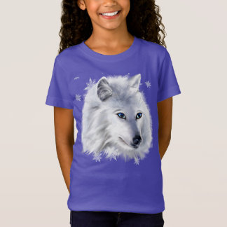 WHITE SNOW WOLF T-Shirt