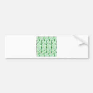 White Snowdrop Flowers Bumper Sticker