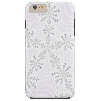 White Snowflake Fractal iPhone 6 case Tough iPhone 6 Plus Case