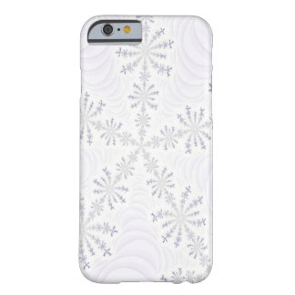 White Snowflake Fractal iPhone 6 case Barely There iPhone 6 Case