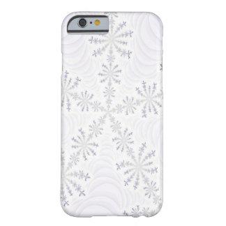 White Snowflake Fractal iPhone 6 case