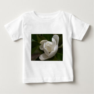 white southern magnolia flower bud baby T-Shirt