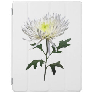 White Spider Mum iPad Cover