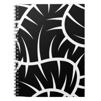 White spikes notebooks