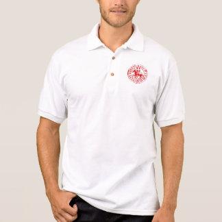 White sports shirt seal Templar