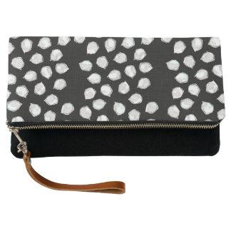 White Spots Clutch Bag