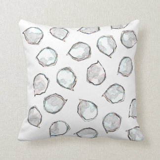 White Spots Throw Pillow