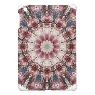 White spring blossoms 2.0, Nature Mandala iPad Mini Cases