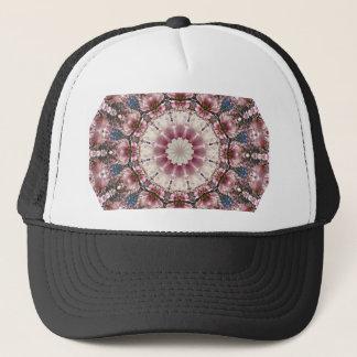 White spring blossoms 2.0, Nature Mandala Trucker Hat