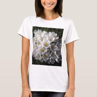 WHITE SPRING CROCUSES T-Shirt