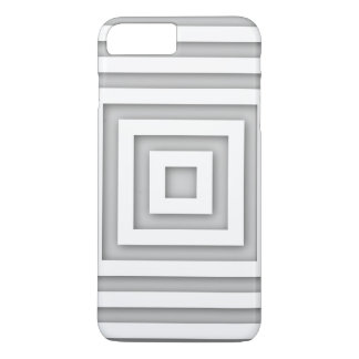 White Square Geometric Case-Mate iPhone Case